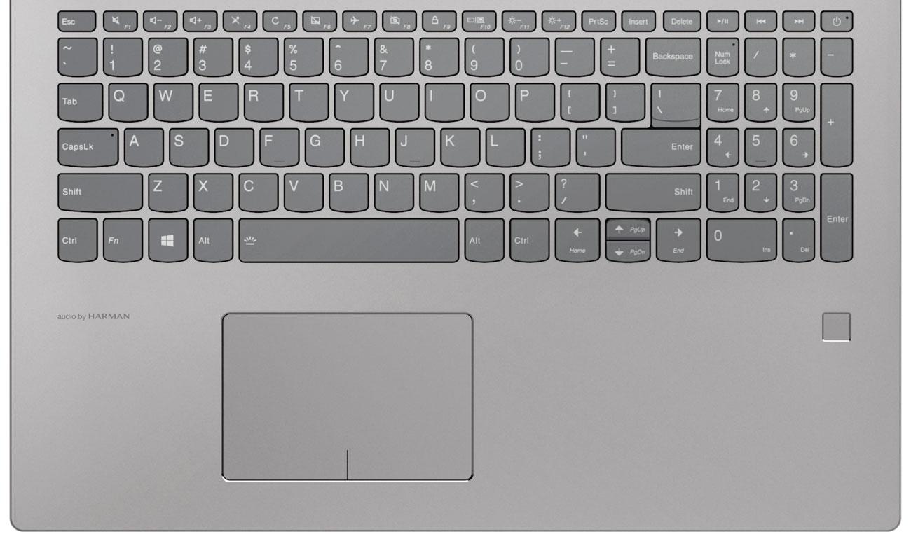Lenovo Ideapad 520 Czytnik linii papilarnych