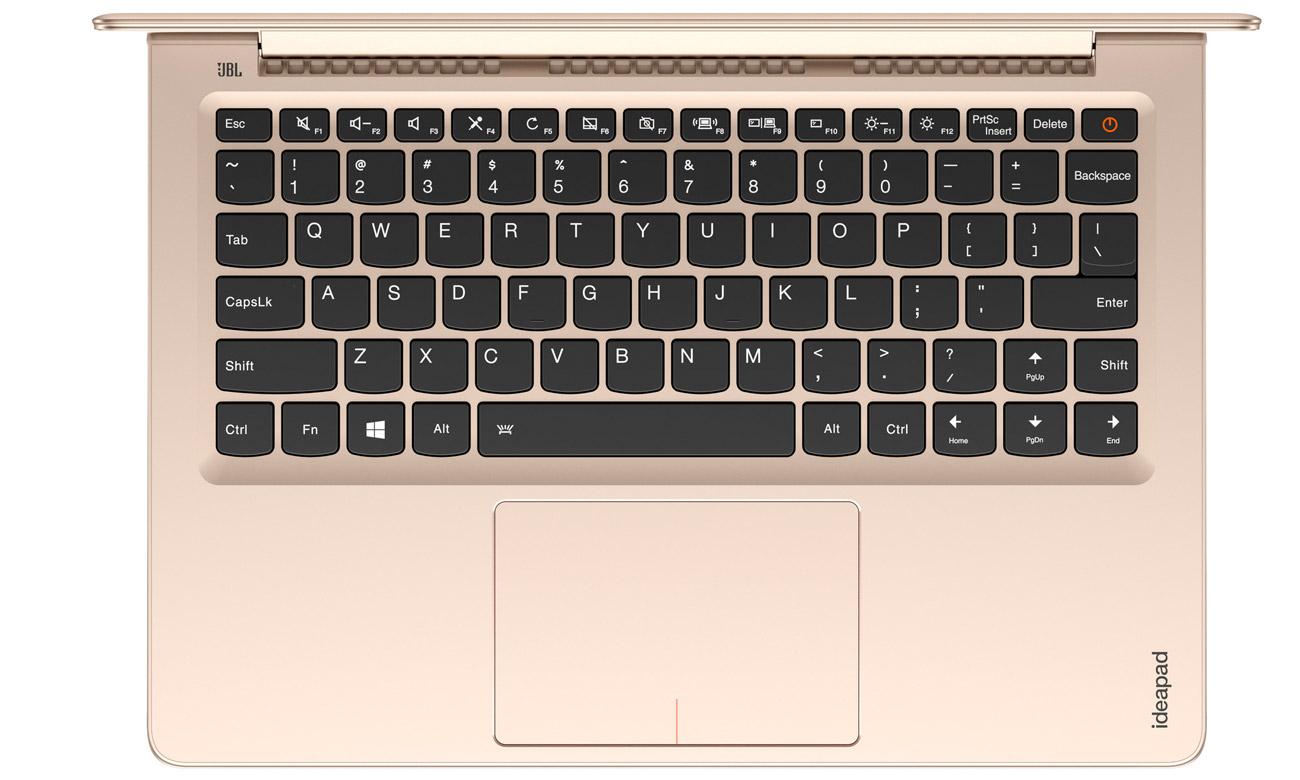 Laptop Lenovo Ideapad 710s podświetlana klawiatura