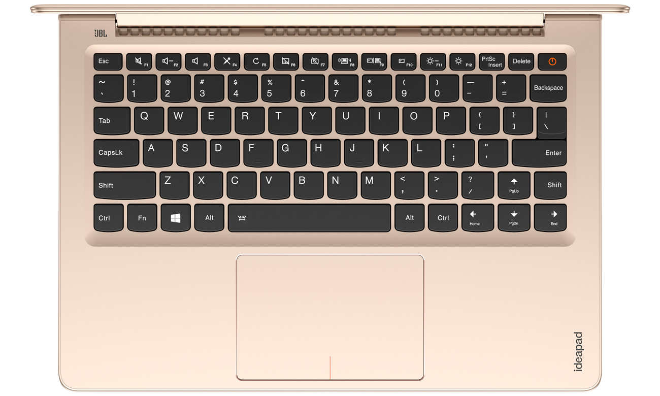 Lenovo Ideapad 710s laptop z podświetlaną klawiaturą