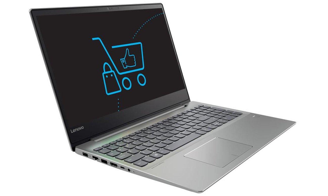 Lenovo Ideapad 720 elegancki stylowy obudowa konstrukcja