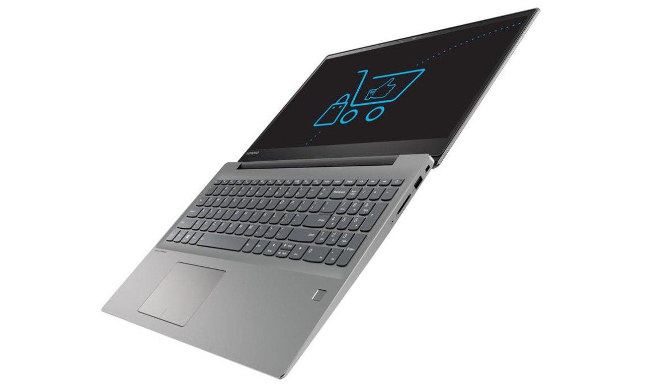 Lenovo Ideapad 720 czytnik linii papilarnych