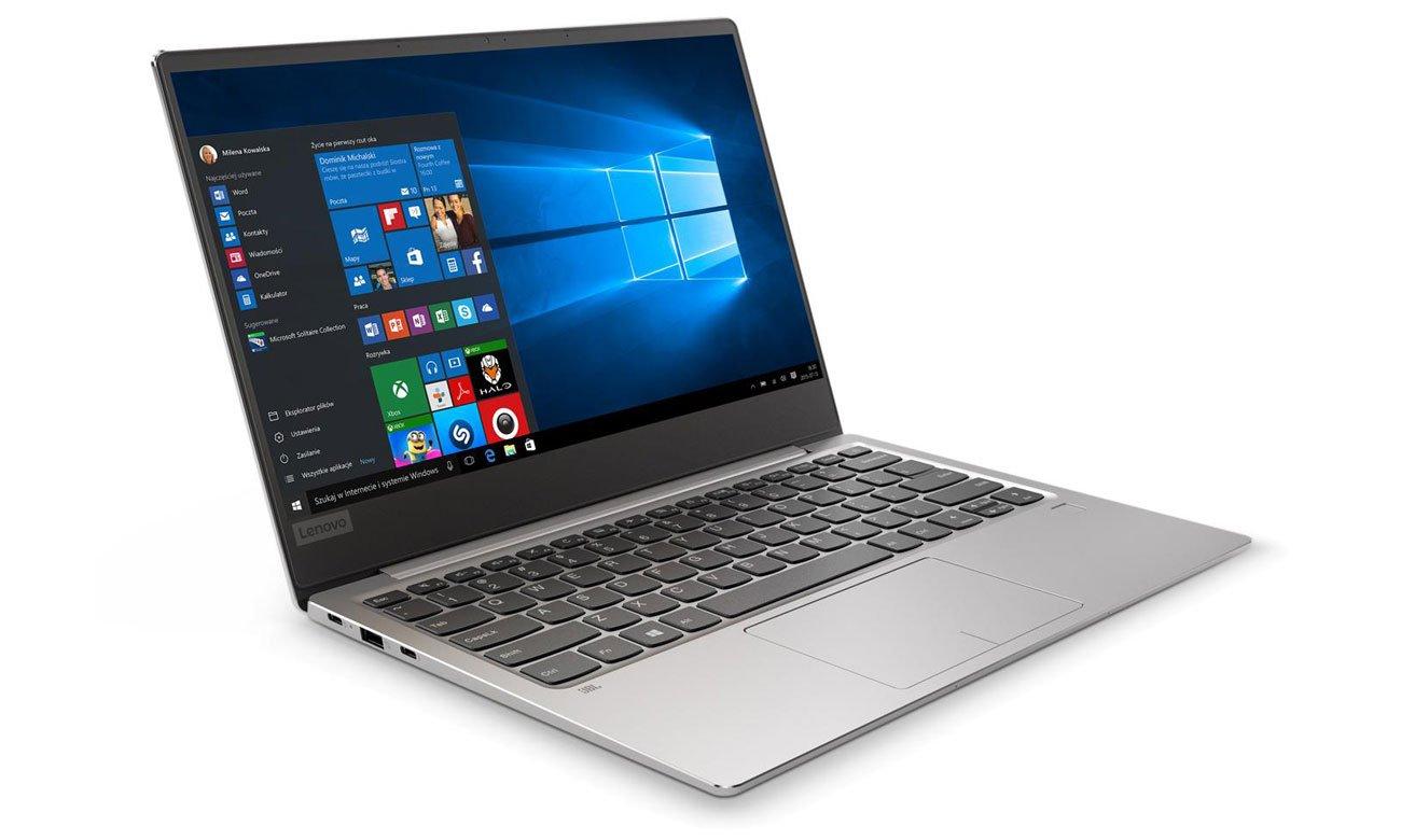 Lenovo Ideapad 720s-13 Długi czas pracy baterii