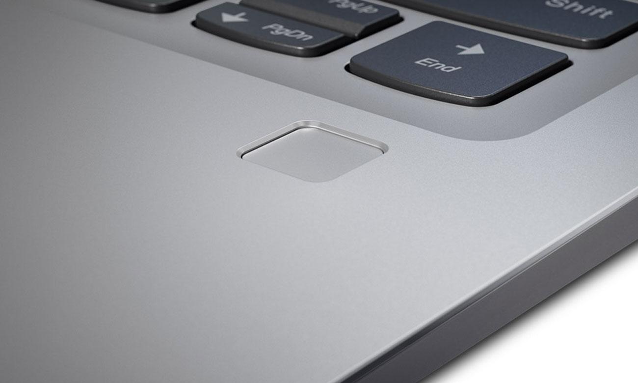 Lenovo Ideapad 720s-13 Szybkie i bezpieczne logowanie, czytnik linii papilarnych