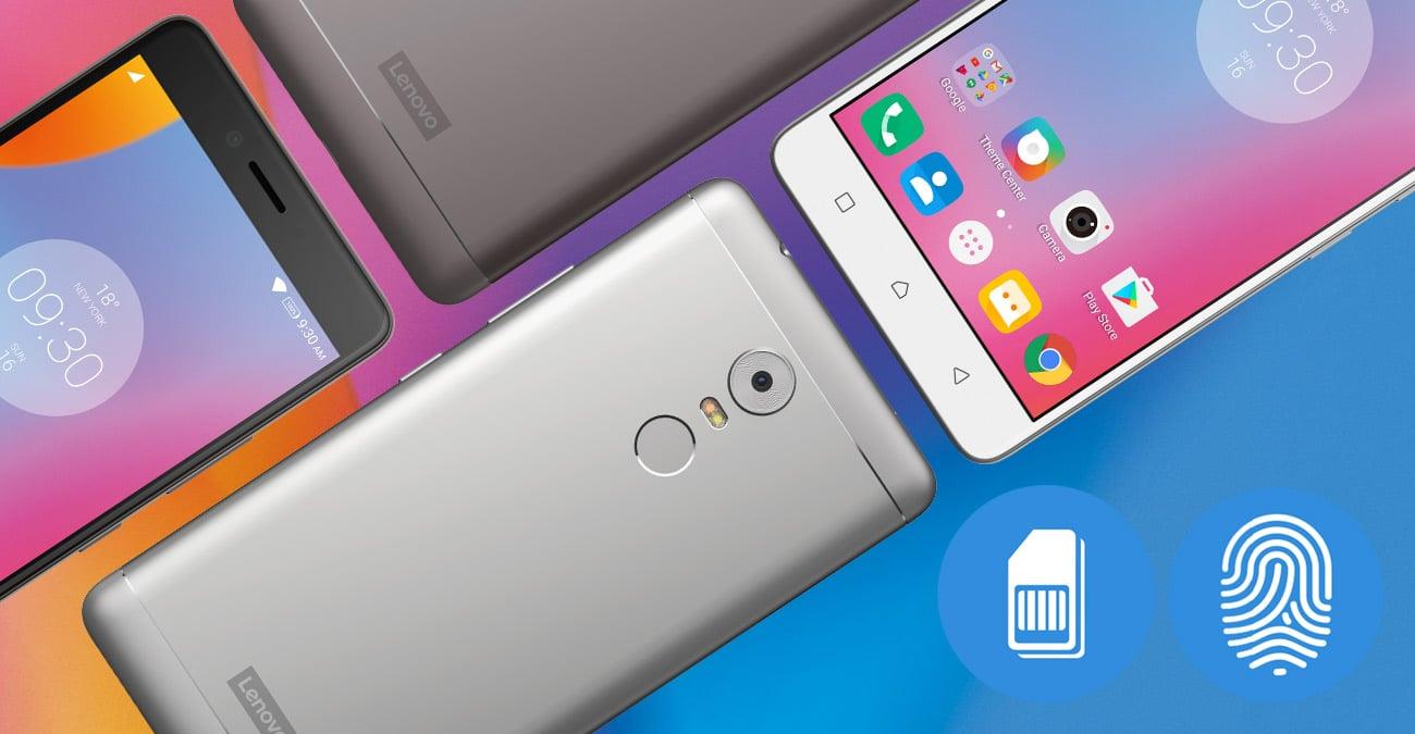 Lenovo K6 Note obsługa Dual SIM LTE