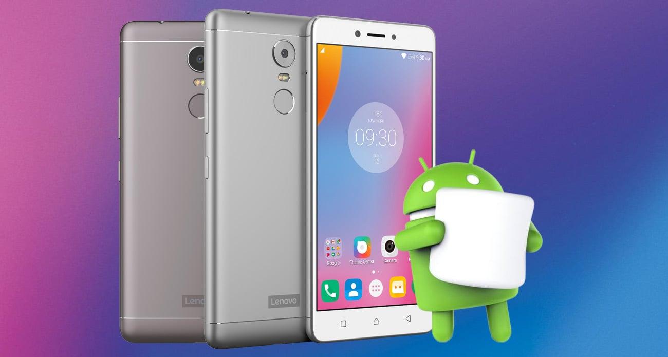 Lenovo K6 Note Android 6.0 Marshmallow
