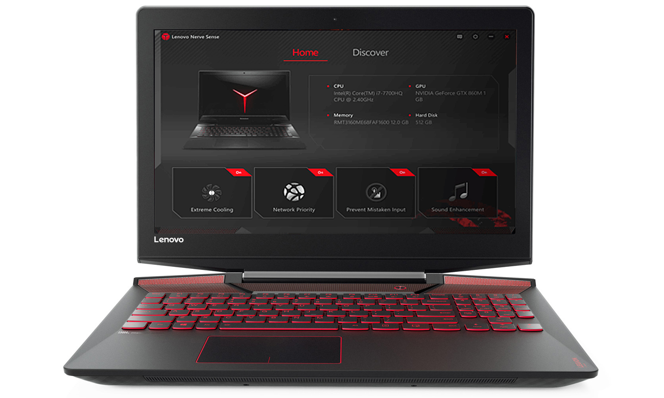 Lenovo Legion Y720-15 Nerve Center