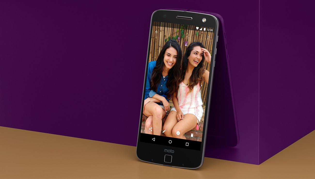 Motorola Moto Z 5,5-calowy ekran OLED w rozdzielczości WQHD