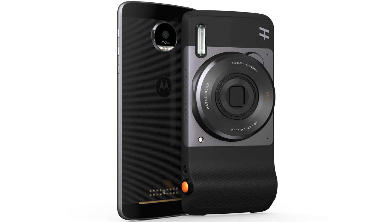 Moto Mods Hasselblad True Zoom do Moto Z ASMESPRWHTEU