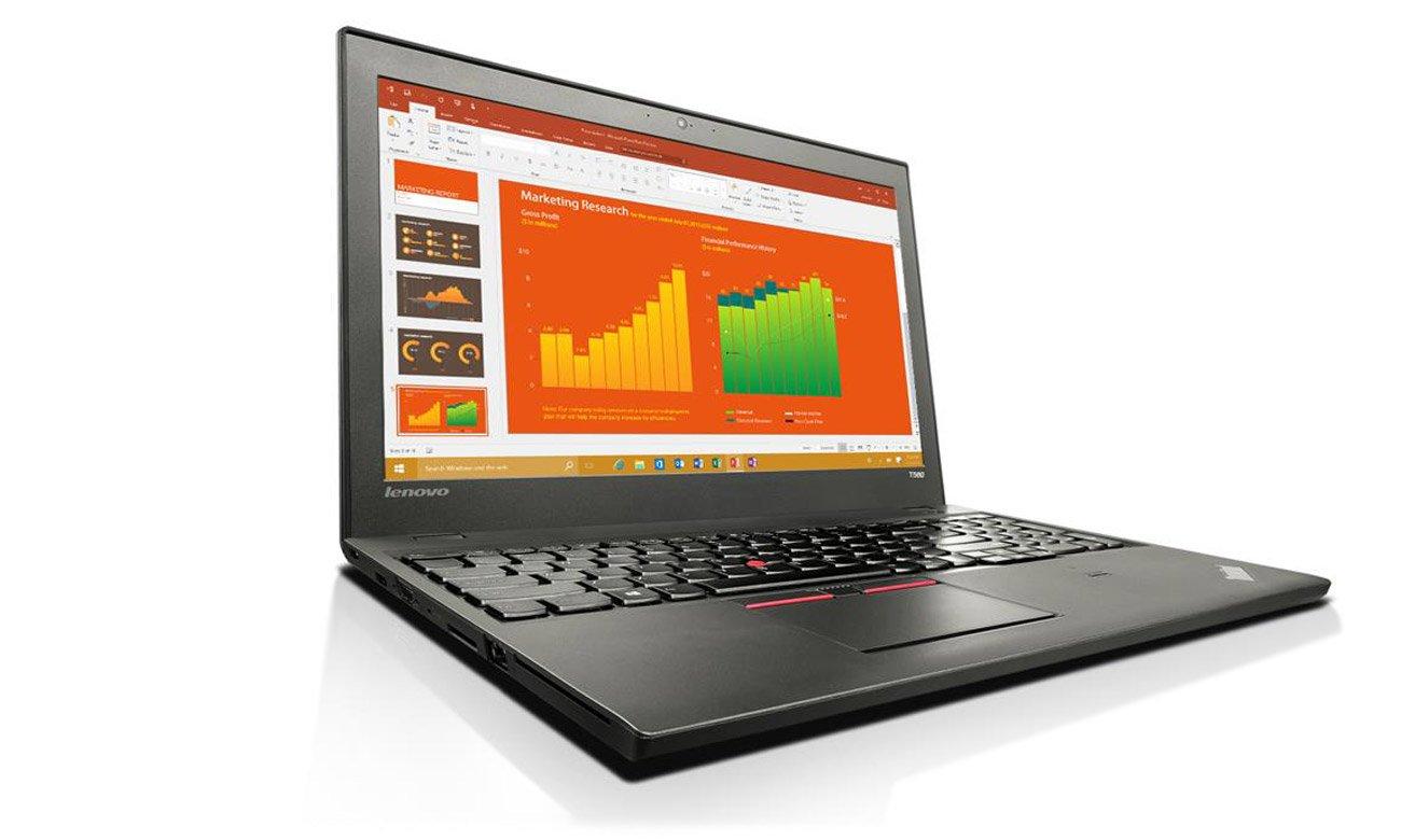 Laptop Lenovo T560 klawiatura wodoodporna ergonomiczna
