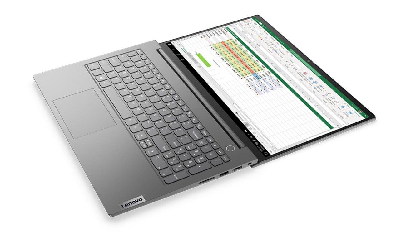 Lenovo ThinkBook 15 zawiast 180 stopni