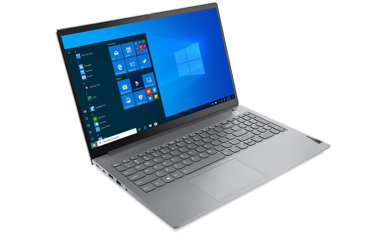 Lenovo ThinkBook 15 lewy bok laptopa