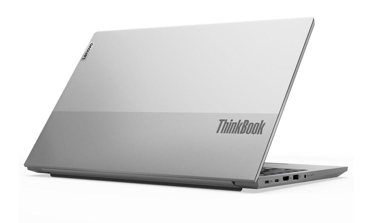 Lenovo ThinkBook 15 srebrna obudowa