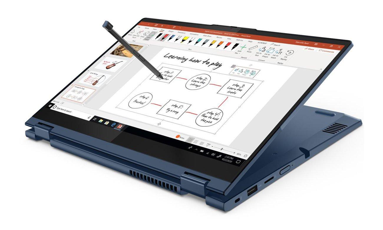 Lenovo ThinkBook Yoga 14s obsługa za pomocą rysika
