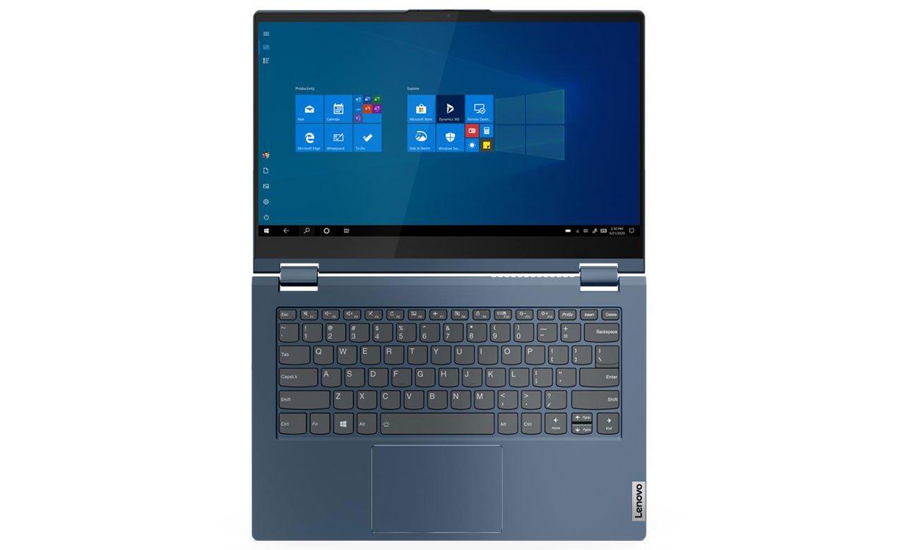 Lenovo ThinkBook Yoga 14s wygodna klawiatura