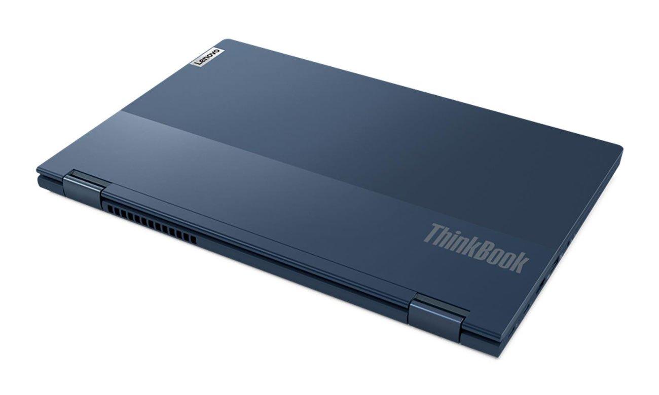 Lenovo ThinkBook Yoga 14s wytrzymała i lekka obudowa