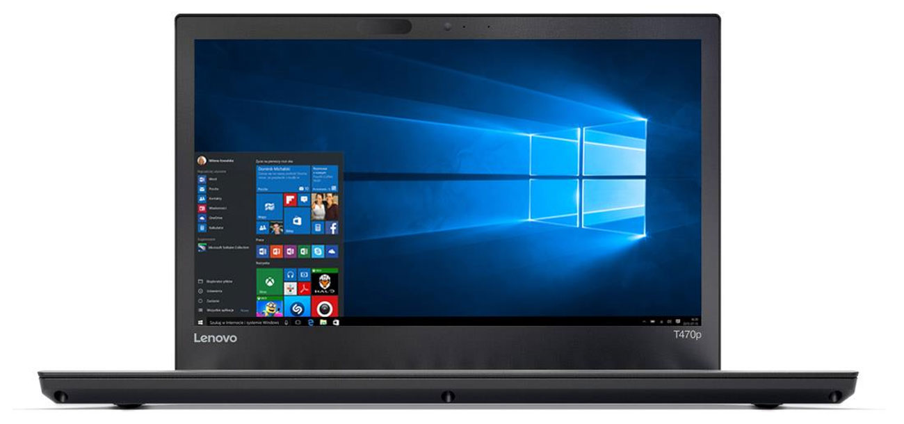 Lenovo ThinkPad T470p karta graficzna Intel HD Graphics