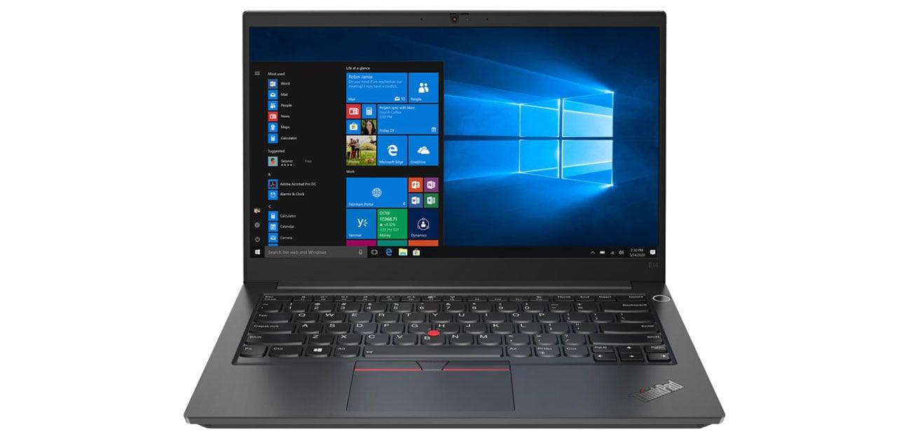 biznesowy laptop Lenovo ThinkPad E14