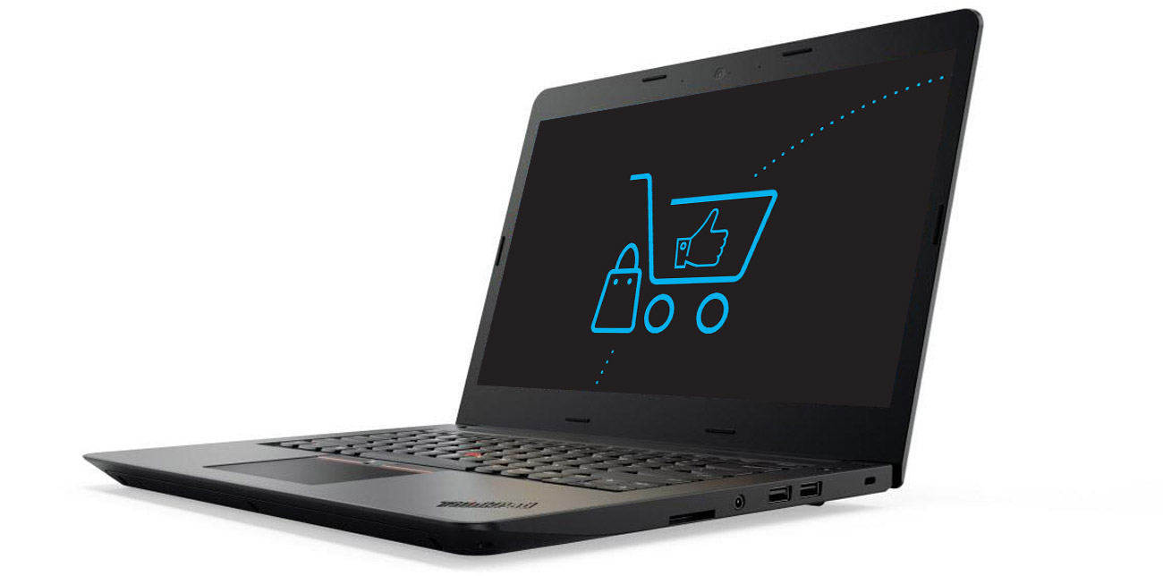 Laptop Lenovo ThinkPad E470 karta graficzna NVIDIA geForce