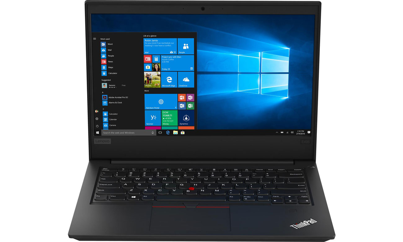 Laptop biznesowy Lenovo ThinkPad E495