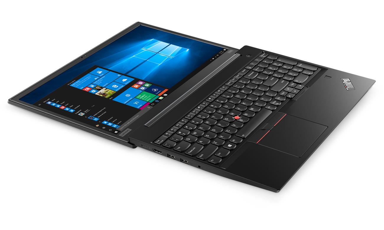 Lenovo ThinkPad E580 elegancki wykląd smukłość lekkość