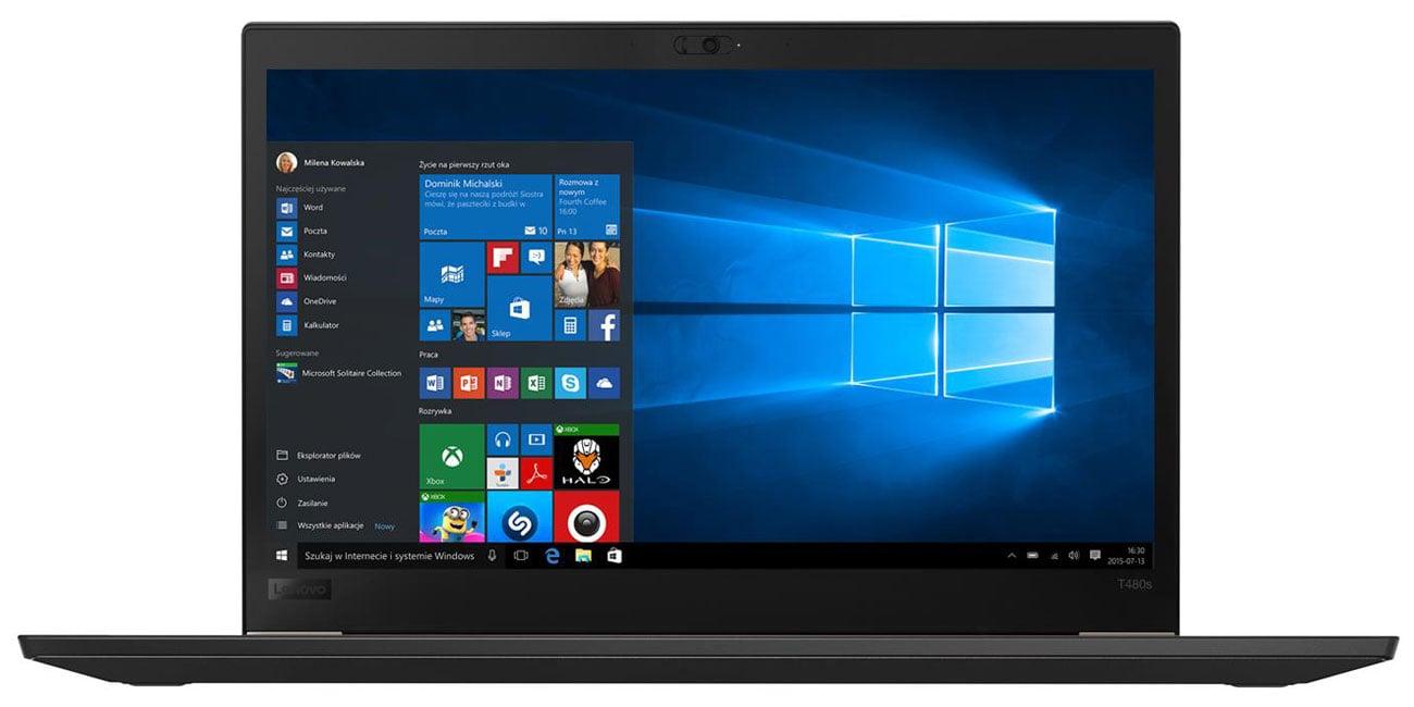 Lenovo ThinkPad T480s Układ graficzny Intel UHD Graphics
