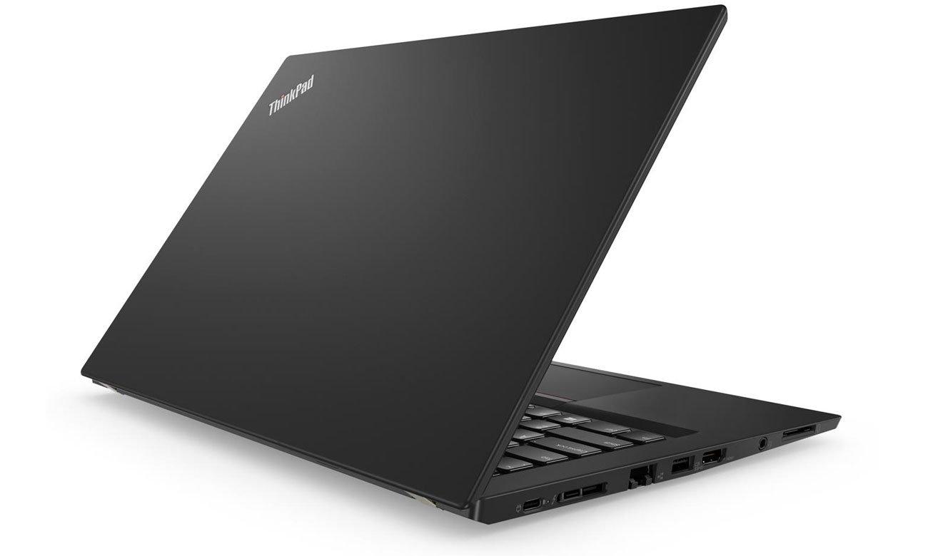Lenovo ThinkPad T480s Jeszcze silniejsze zabezpieczenia online, Standard FIDO