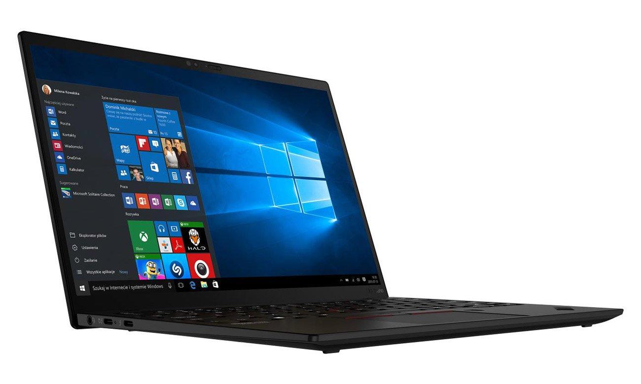 Matryca matowa w ThinkPad X1 Nano