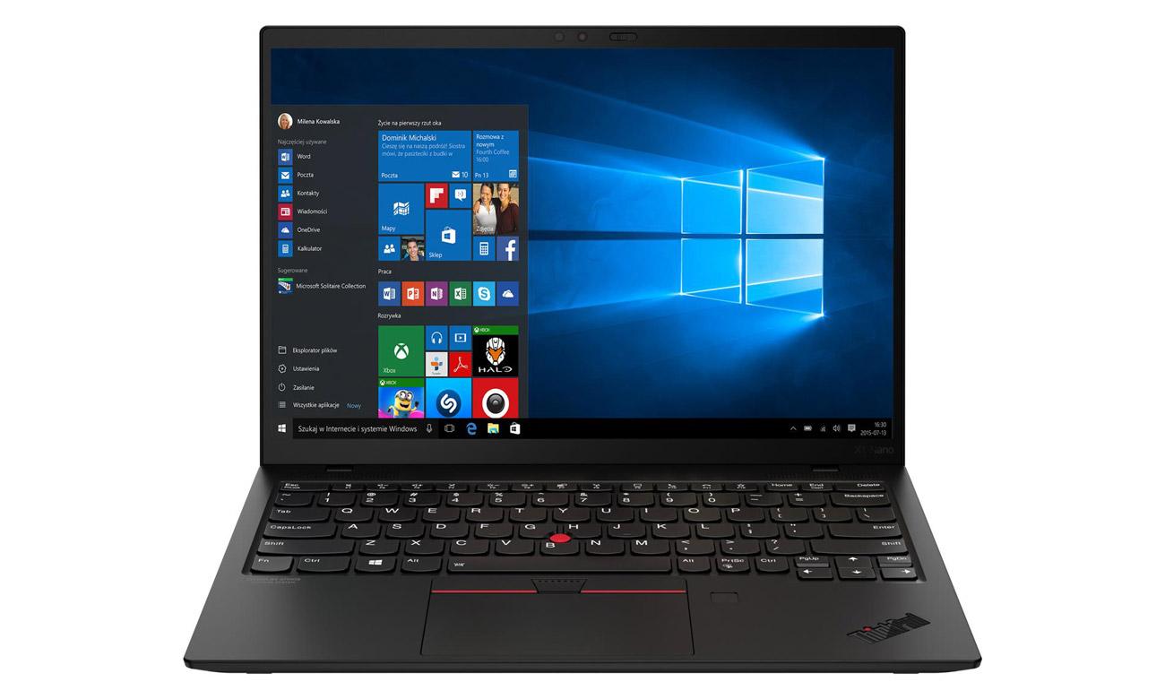 Laptop biznesowy Lenovo ThinkPad X1 Nano