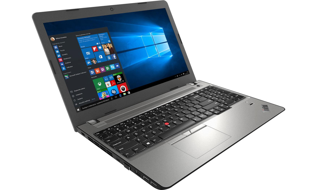 lenovo ThinkPad E570 smukły i lekki