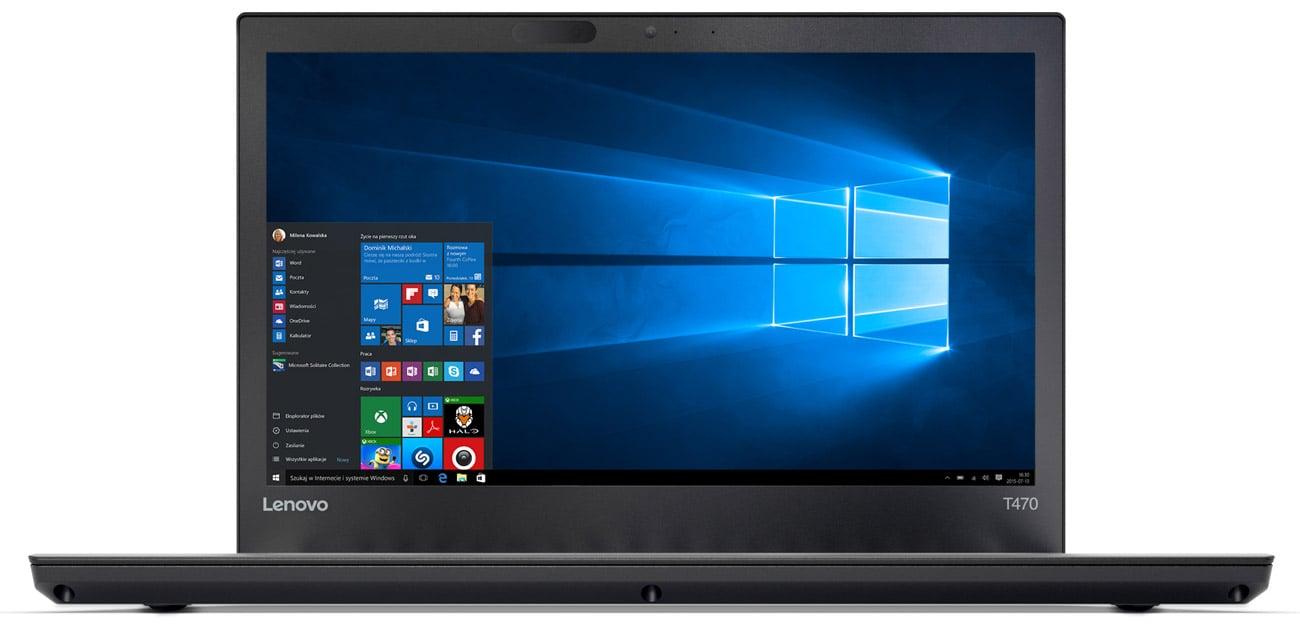 Procesor Intel Core i5 siódmej generacji w Lenovo ThinkPad T470