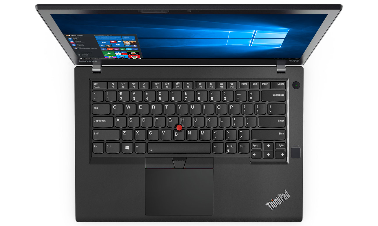Lenovo ThinkPad T470 Ergonomiczna klawiatura