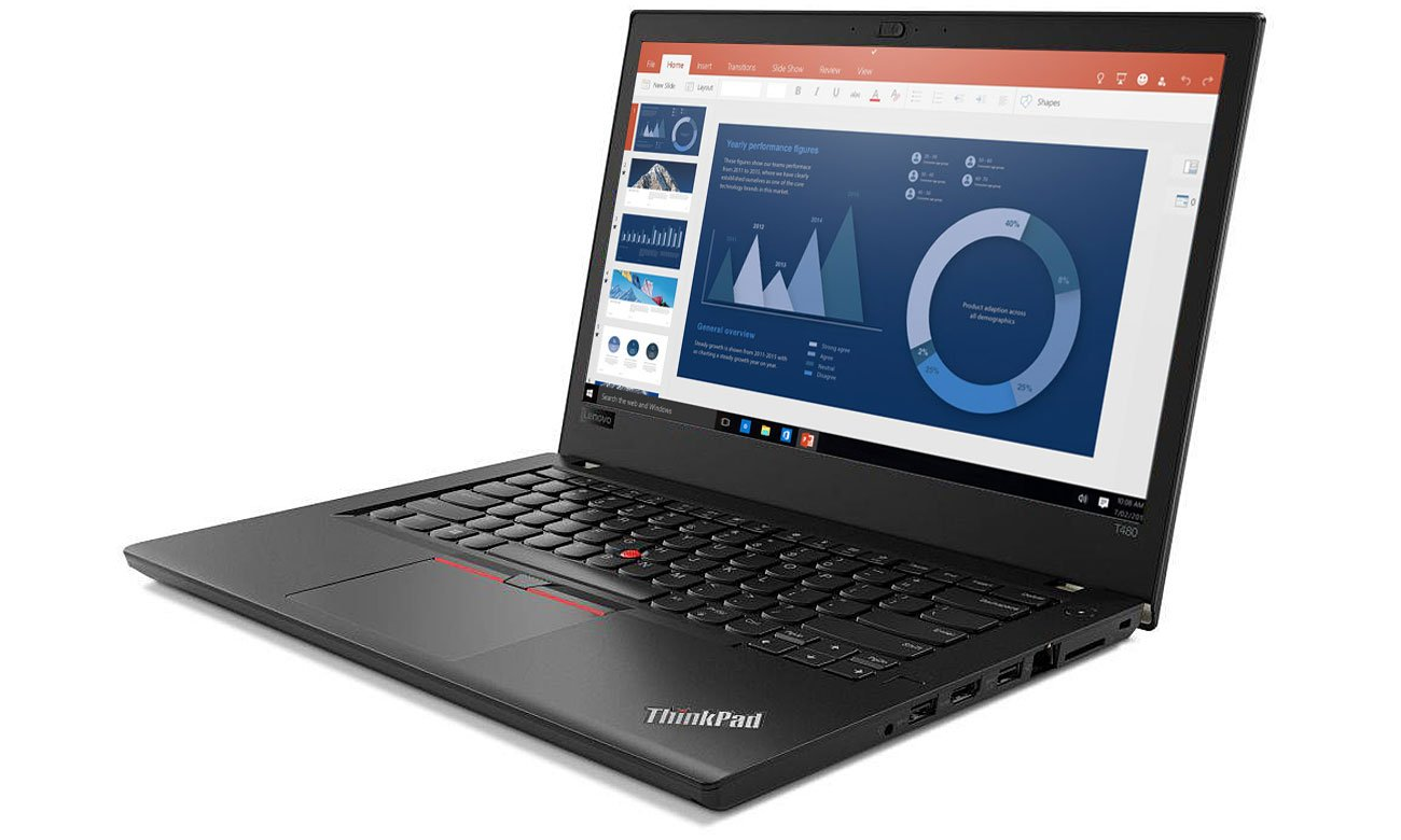 Lenovo ThinkPad T480 Procesor Intel Core i7-8550U