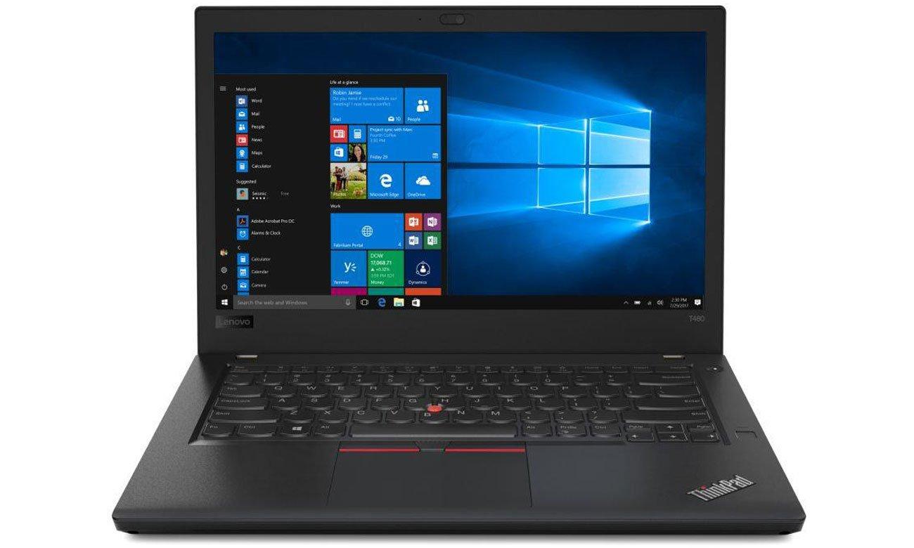 Lenovo ThinkPad T480 Legendarna wytrzymałość