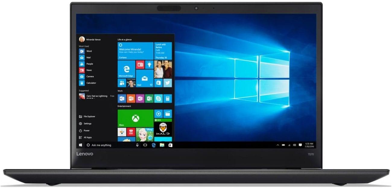 Lenovo ThinkPad T570 rocesor Intel Core i5 siódmej generacji