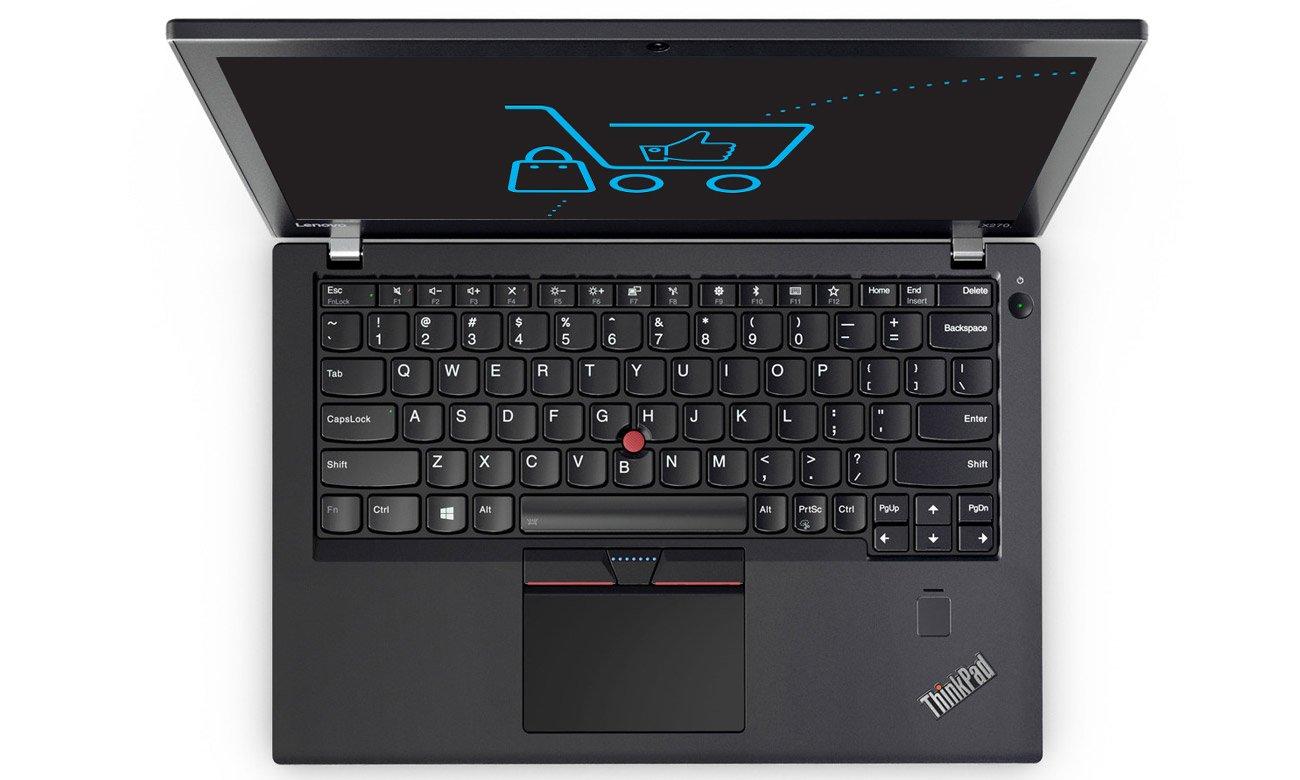 Laptop Lenovo ThinkPad X270 podświetlana klawiatura
