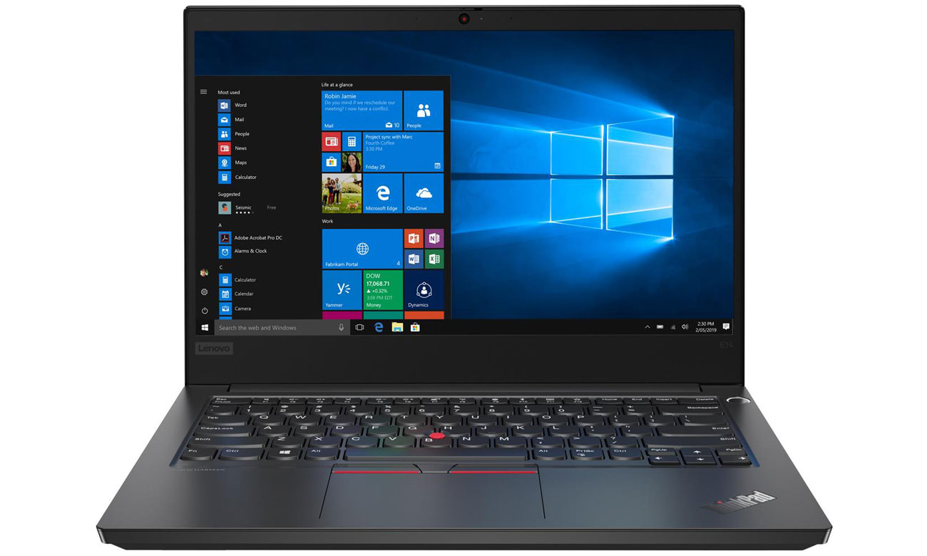 Laptop biznesowy Lenovo ThinkPad E14