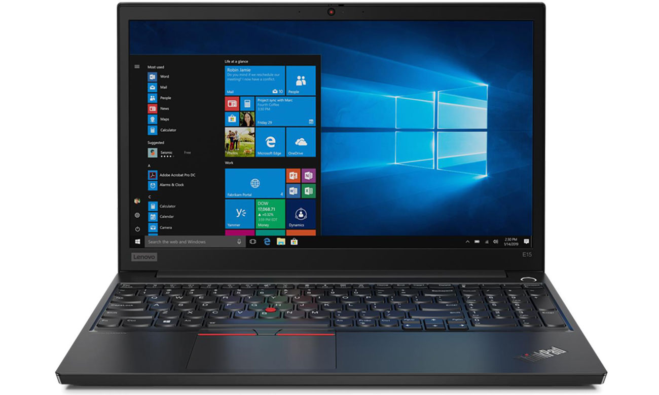 Laptop biznesowy Lenovo ThinkPad E15