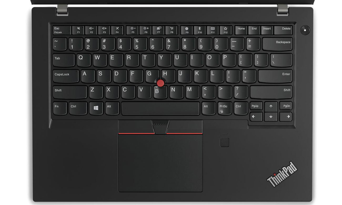 Lenovo Thinkpad L480 Podświetlana klawiatura z TrackPointem