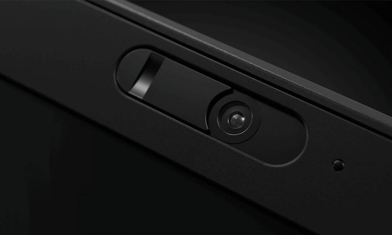 Lenovo Thinkpad X1 Carbon 6 Prywatność po przesunięciu palcem, osłona ThinkShutter