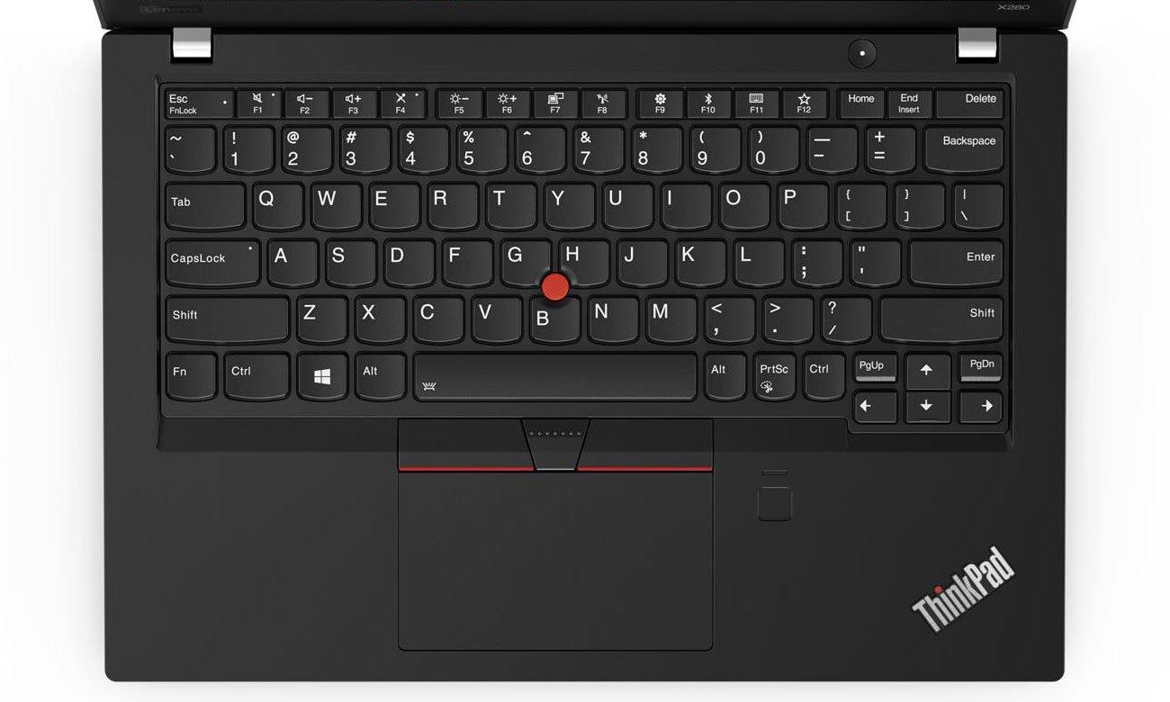 Lenovo ThinkPad x280 Podświetlana klawiatura z TrackPointem