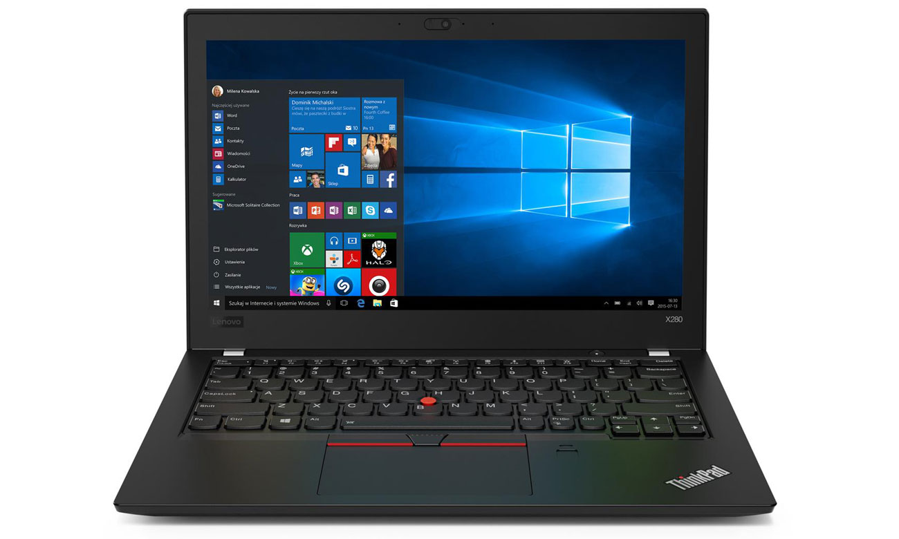 Lenovo ThinkPad x280 Matryca Full HD IPS