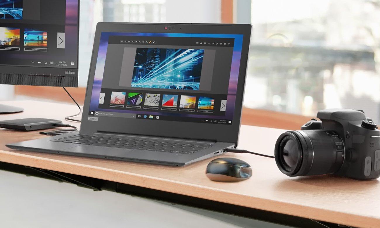 Laptop Lenovo V330 kamera HD wideokonferencje