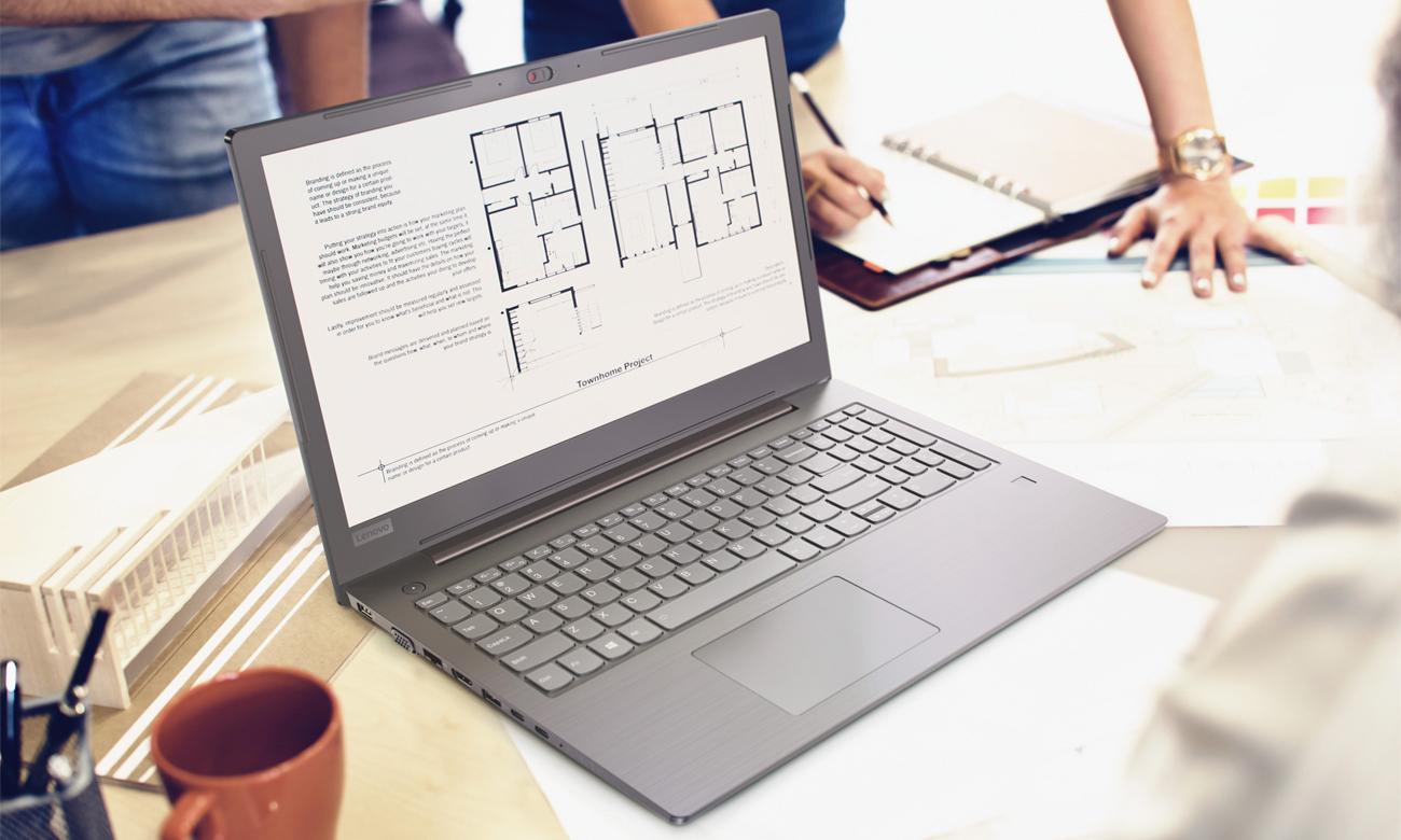 Laptop Lenovo V330 wbudowany czytnik linii papilarnych hasła