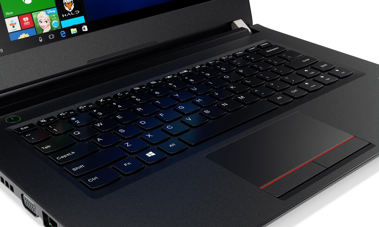 Lenovo V510 klawiatura konstrukcja jednoczęściowa wydajność klawisze wytrzymałość