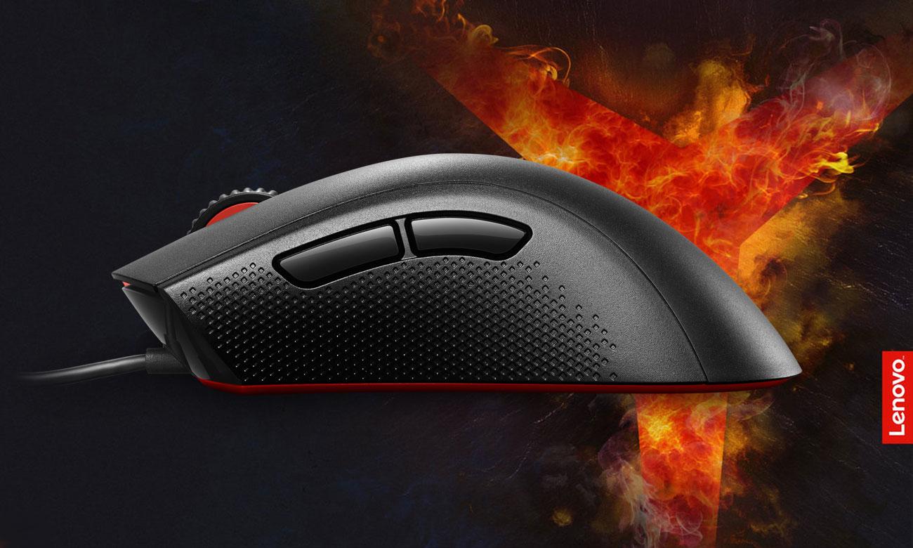Mysz optyczna Lenovo Y Gaming Zaprojektowana z myślą o precyzji