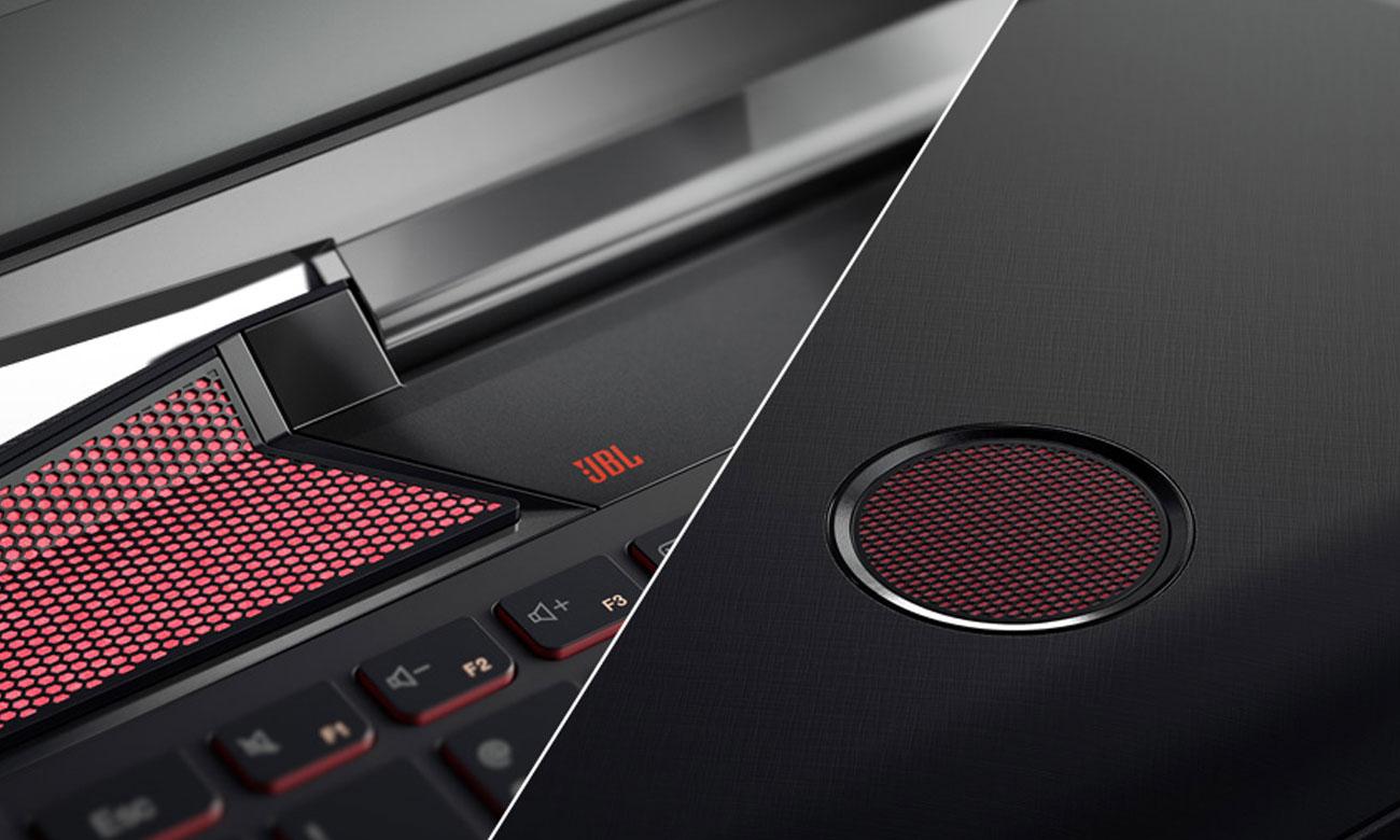 Laptop Lenovo Y700 wysokiej klasy głośniki