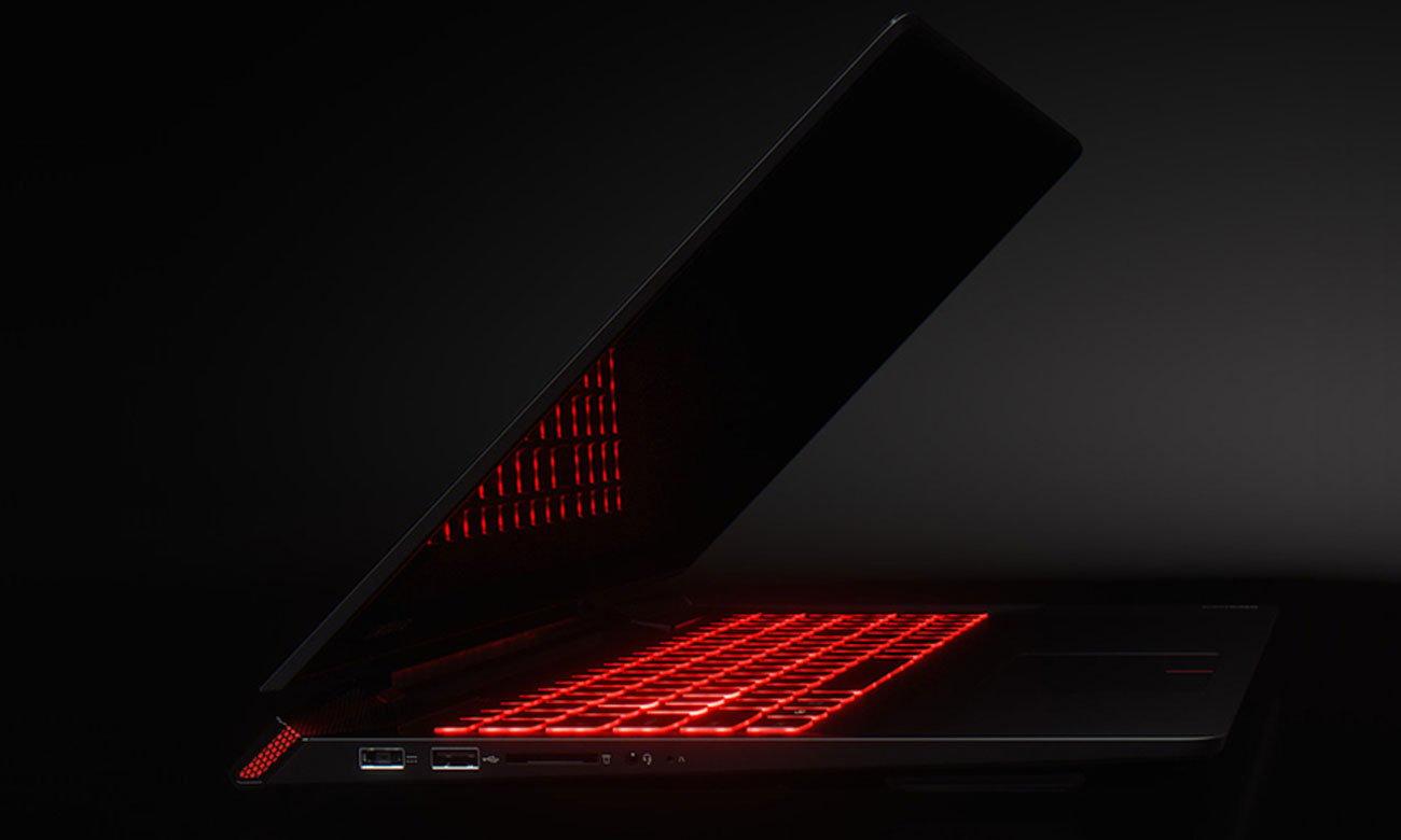 Laptop Lenovo Y700 podświetlana klawiatura AccuType