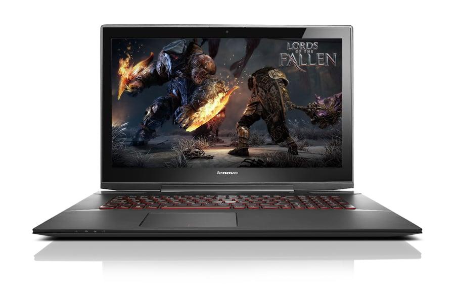 Laptop dla graczy Lenovo Y70-70 Gamer przód