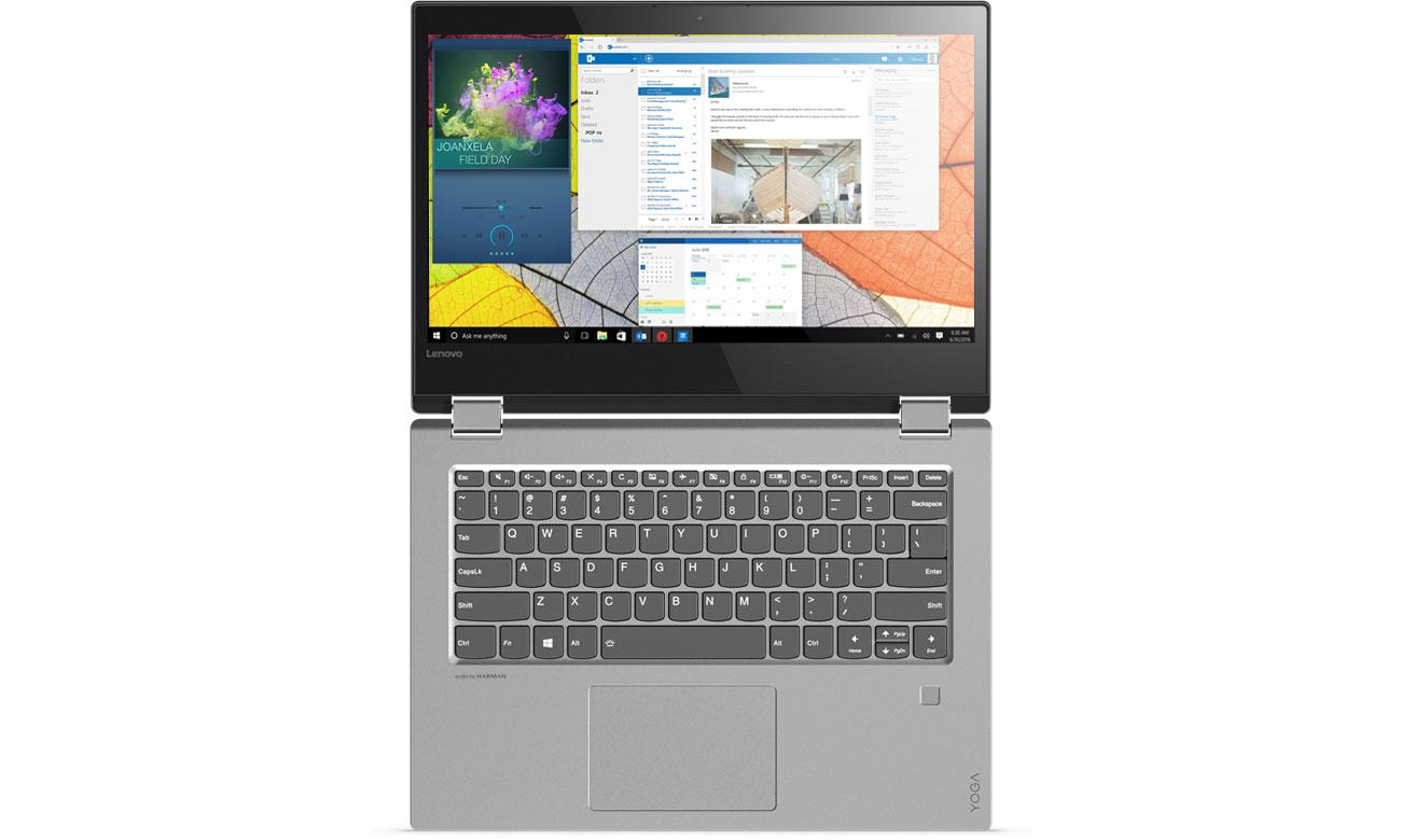 Lenovo YOGA 520 Głośniki Harman, Dolby Audio Premium, Czysty, wyraźny dźwięk
