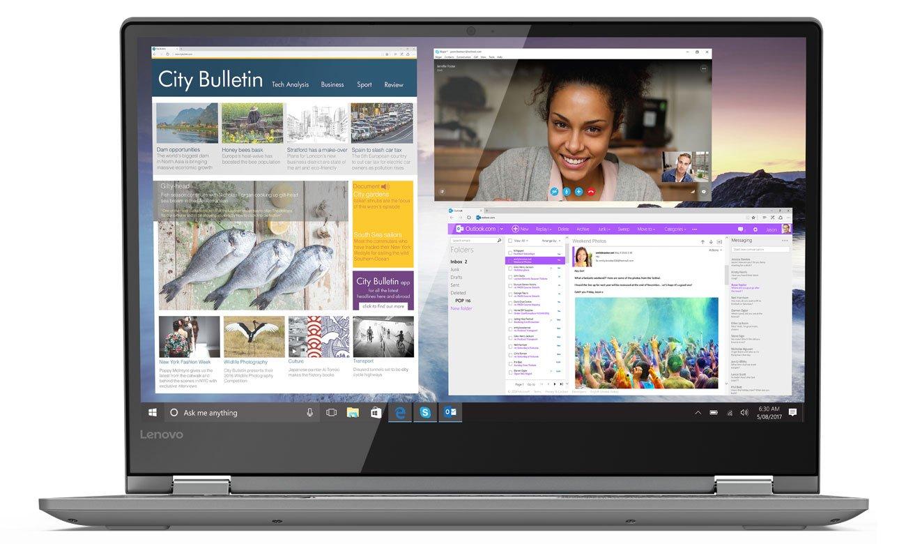 Lenovo Yoga 530 Procesor Intel Core i3 8-ej generacji